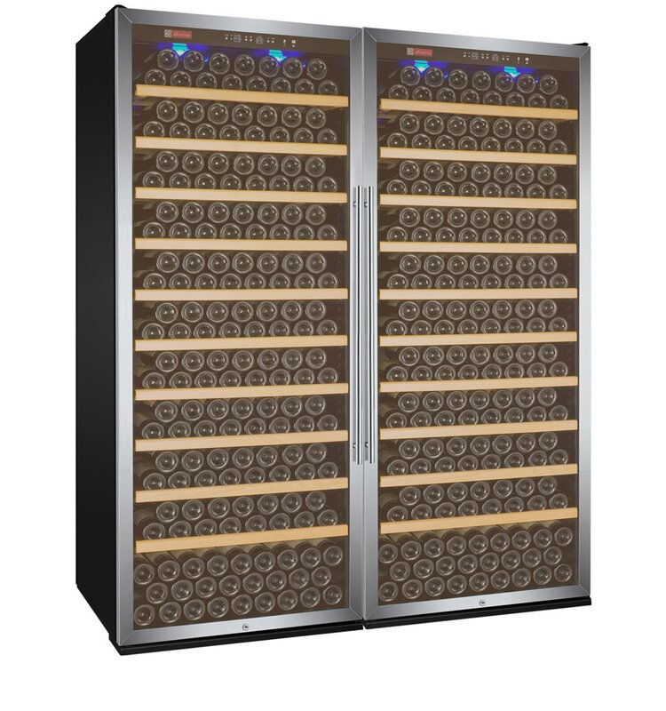 Allavino 610 Bottle Vite Series Dual Zone Freestanding Wine Cellar