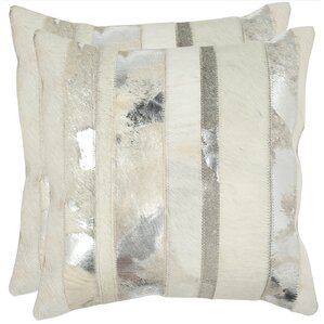 Braelyn 100% Cotton Throw Pillow (Set of 2)