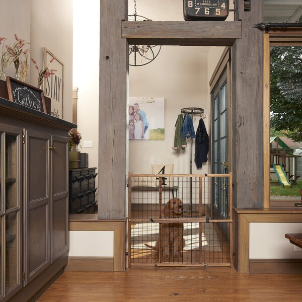Evenflo Home Decor Wood Swing Gate: Evenflo Position And Lock Wide Doorway Safety Gate