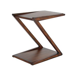 Rempe Modern Wooden Z-Shaped E..