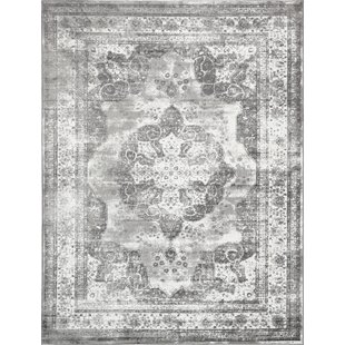 brandt machine woven indoor gray area rug - Washable Area Rugs