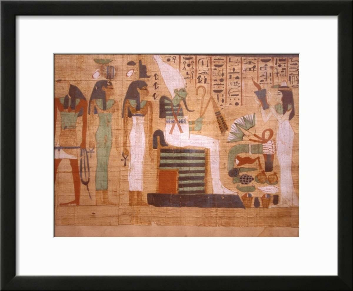 Bloomsbury Market \'Ancient Papyrus, Cairo Museum of Egyptian ...