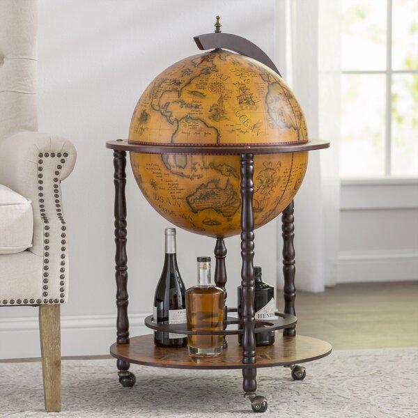 - World Menagerie Globe Drinks Cabinet Floor Standard & Reviews Wayfair