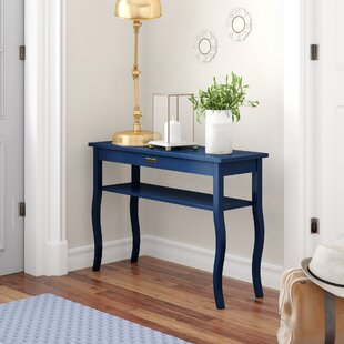 blue console tables you ll love wayfair rh wayfair com navy blue sofa table blue sofa coffee table