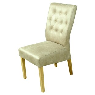 Carla Tall Back Button Upholstered Dining Chair