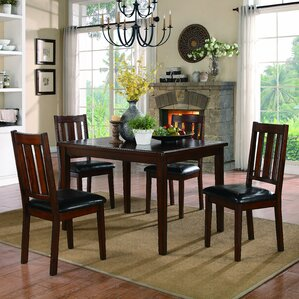 Mosely 5 Piece Dining Set by Woodhaven..