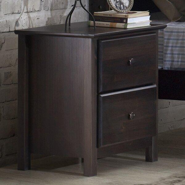Grain Wood Furniture Shaker 2 Drawer Nightstand U0026 Reviews | Wayfair