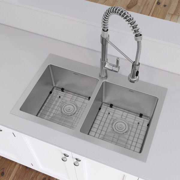 Ancona Prestige Series Stainless Steel 30 L X 19 W Drop In Kitchen Sink Reviews Wayfair