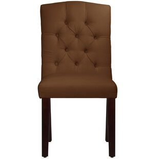 Michigamme Tufted Arched Upholstered Dining Chair