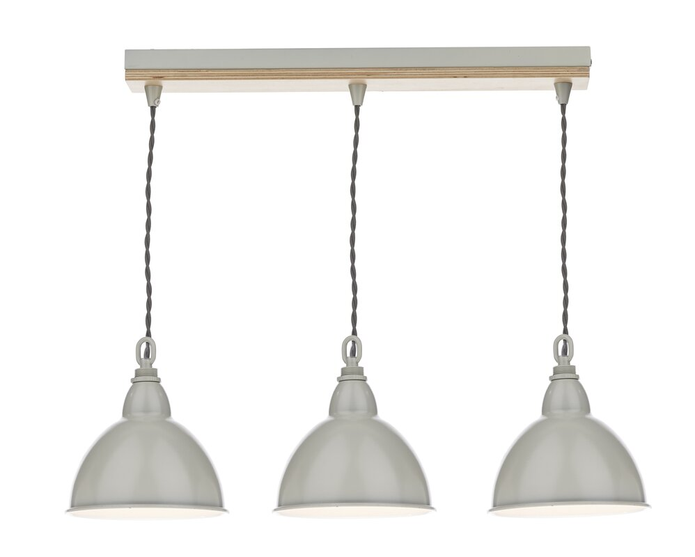 Dar Lighting Blyton 3-Light Kitchen Island Pendant & Reviews