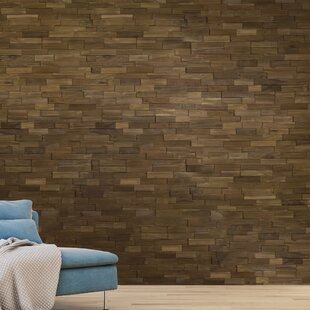 Solid Wood Wall Paneling In Dark