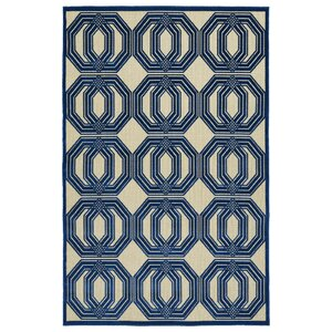 Covedale Navy Indoor/Outdoor Area Rug