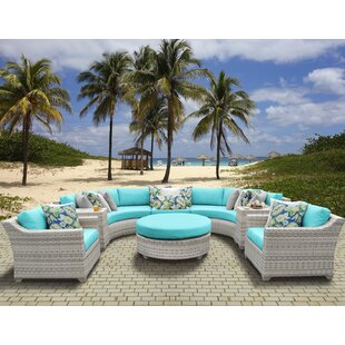 Ansonia 8 Piece Sectional Set With Cushions