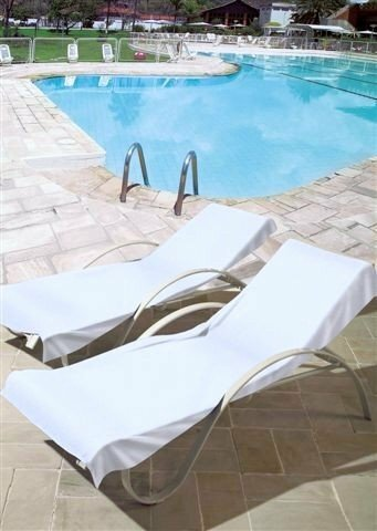 Good 100% Cotton Towel Patio Chaise Lounge Cover