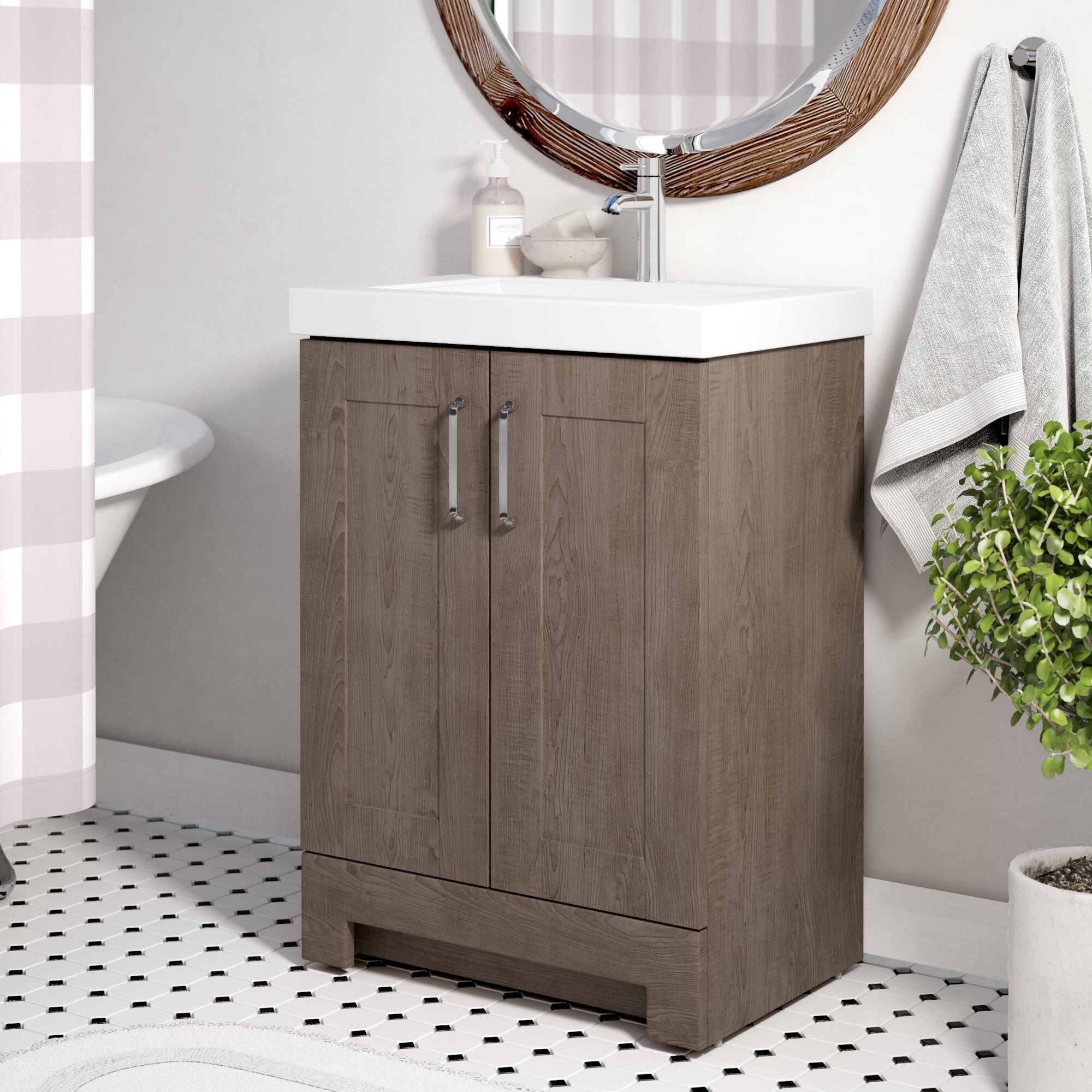 zipcode design nels 25 single bathroom vanity set reviews rh wayfair ca 25 bathroom vanity with drawers bathroom vanity top 25x22