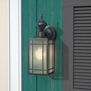 Black outdoor onion lights wayfair lakewood 1 light black outdoor wall lantern aloadofball Gallery