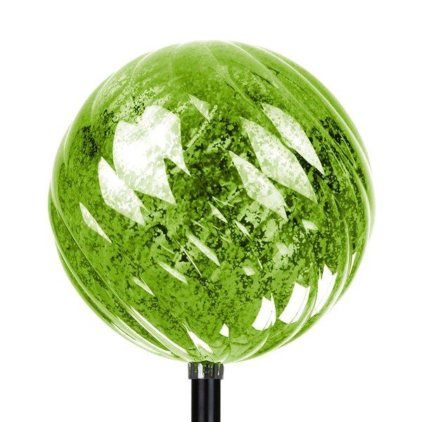 Exhart Solar Medium Spiral Orb Garden Stake U0026 Reviews   Wayfair
