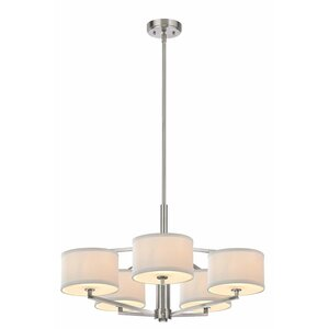 Cervantes 5-Light Drum Chandelier