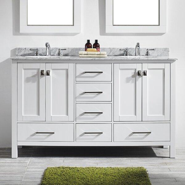 Eviva Aberdeen 60  Double Bathroom Vanity Set   Wayfair. Elegant Bathrooms Aberdeen. Home Design Ideas