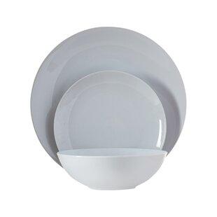 Tillman 12 Piece Porcelain Dinnerware Set Service for 4  sc 1 st  Wayfair & Lead Free Porcelain Dinnerware | Wayfair