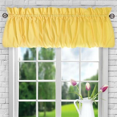 Ellis 60 Balloon Curtain Valance August Grove Color: Yellow