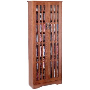 Jones Glass Door Tall Multimedia Storage Cabinet by Andover Mills