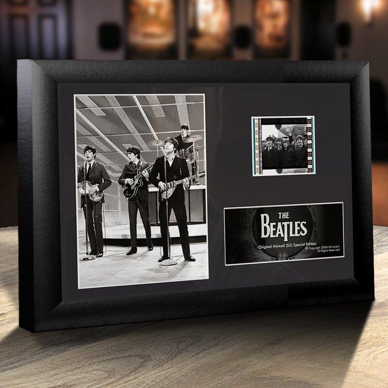 Trend Setters Beatles (On Stage) Framed Film Cells Desktop ...