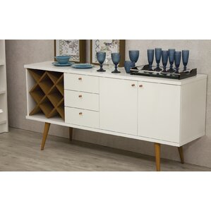 Lemington Wine Rack Sideboard Buffet Table by George Oliver