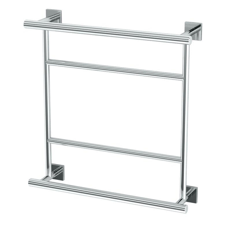Delightful Chrome Towel Rack Wall Mounted Part - 13: Elevate Hotel Wall Mounted Towel Rack