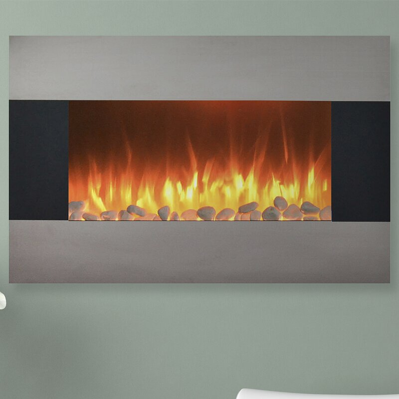 Northwest Wall Mount Electric Fireplace Reviews Wayfair