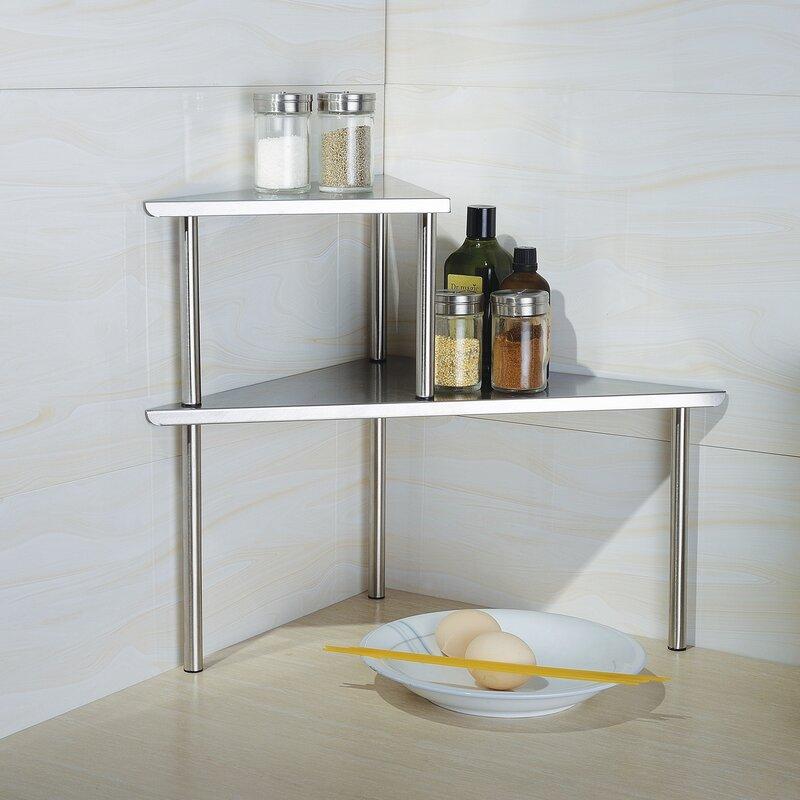 Wrought studio fincastle stainless steel baker s rack