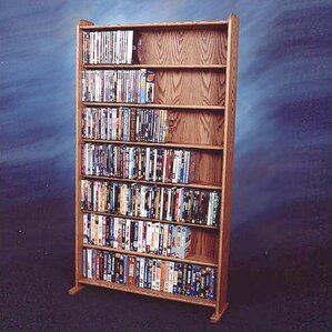 Wood Shed 700 Series 399 DVD Multimedia Storage Rack Image