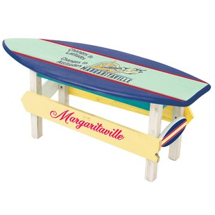 Changes In Atude Sea Plane Wooden Coffee Table By Margaritaville
