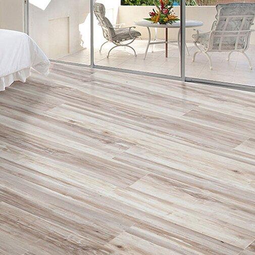 AllAmericanHardwood Exotic 5 5.25 x 64 x 12mm Acacia Laminate Flooring  Finish: Smokey Gray