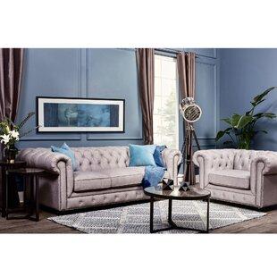 Wonderful Espenson Chesterfield Configurable Living Room Set
