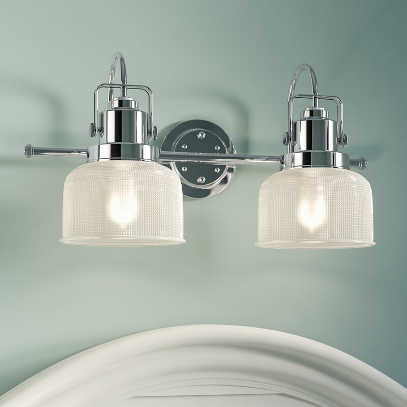 Beachcrest home gotha 2 light vanity light reviews wayfair gotha 2 light vanity light mozeypictures Images