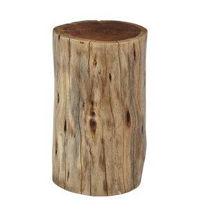 Reclaimed Wood Stump Table