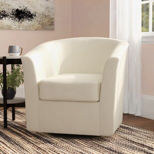 Faux Leather Swivel Accent Chairs You\'ll Love in 2019 | Wayfair
