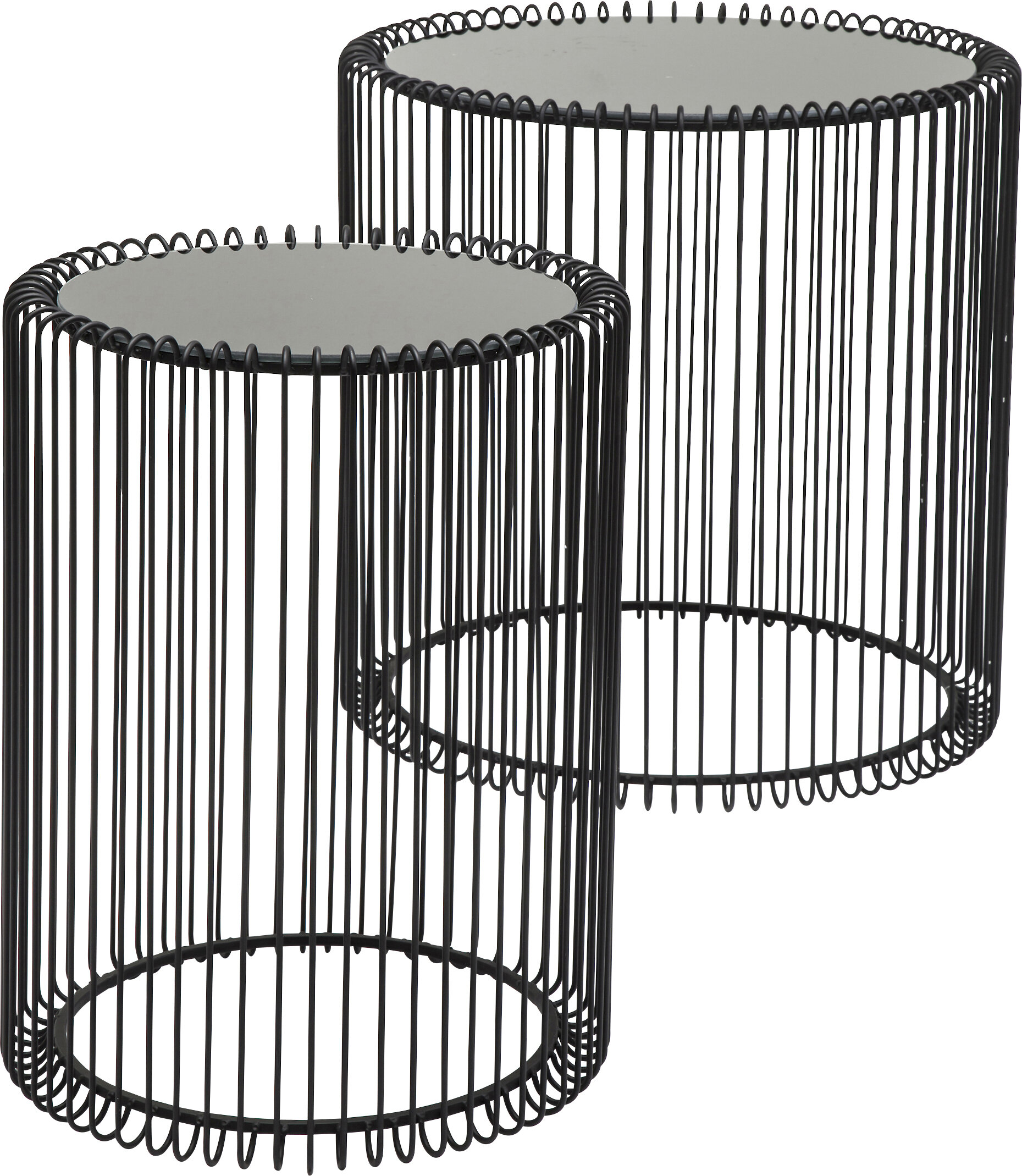 Wire 2 Piece Nest of Tables