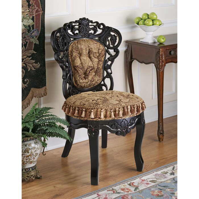 Victorian Parlour Fabric Side Chair