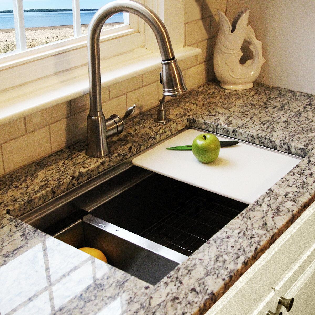Nantucket Sinks Pro Series 30 L X 18 W Undermount Kitchen Sink Reviews Wayfair