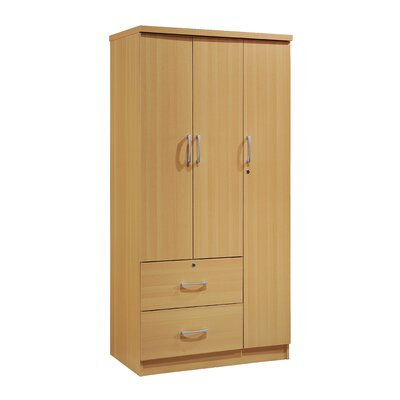 Guerrier 3 Door Armoire