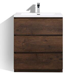 Riker Free Standing 36 Single Bathroom Vanity Set