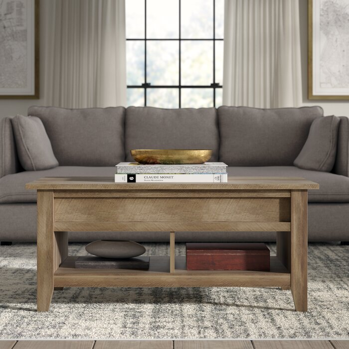 Superbe Riddleville Lift Top Coffee Table With Storage