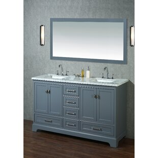 Save Willa Arlo Interiors Stian 60 Double Sink Bathroom