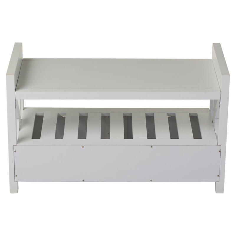 Andover Mills Cyril Storage Bench Amp Reviews Wayfair