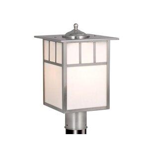 Modern post lighting allmodern joelle outdoor 1 light lantern head mozeypictures Choice Image