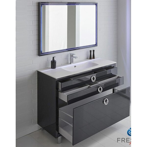 blue bathroom sink vanity navy blue bathroom vanity wayfair 17451