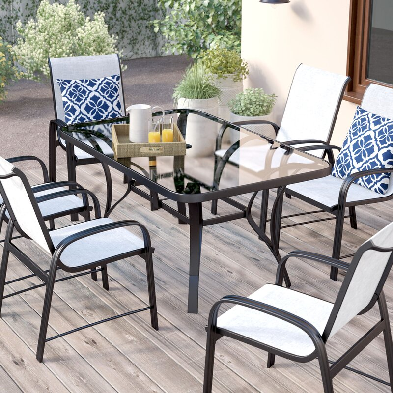 bellingham 7piece patio dining set