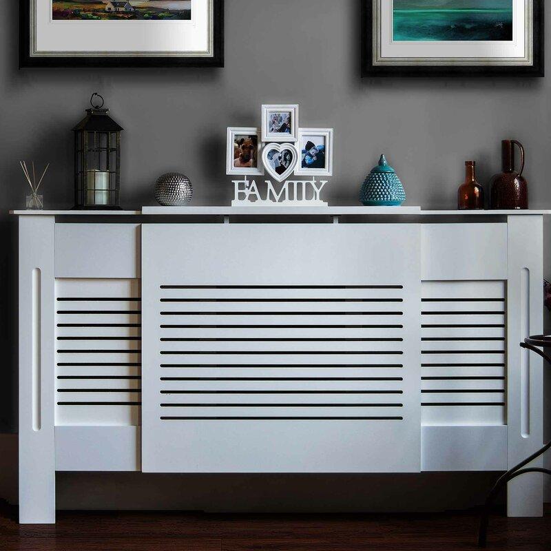 Wildon Home Milton Adjustable Horizontal Radiator Cover Amp Reviews Wayfair